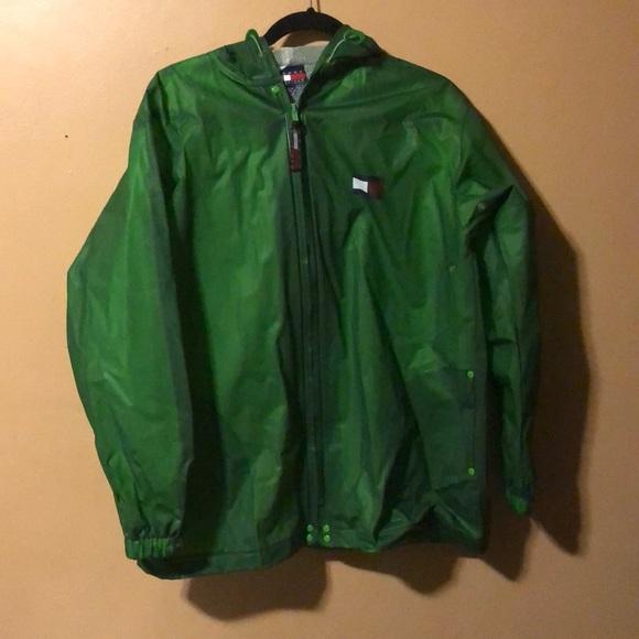new design cheap for sale outlet sale Oversized long fit Tommy Hilfiger raincoat